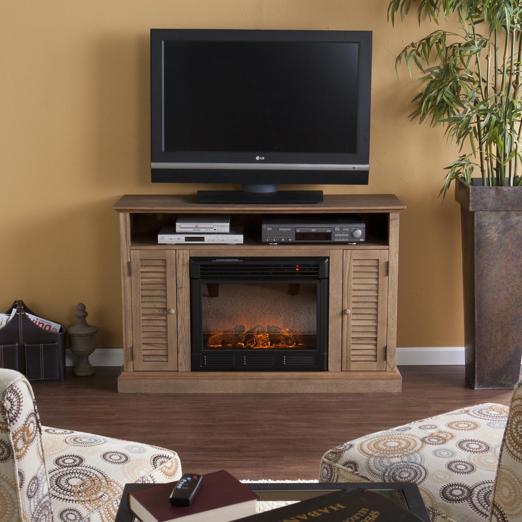 Holly & Martin™ Savannah Media Electric Fireplace
