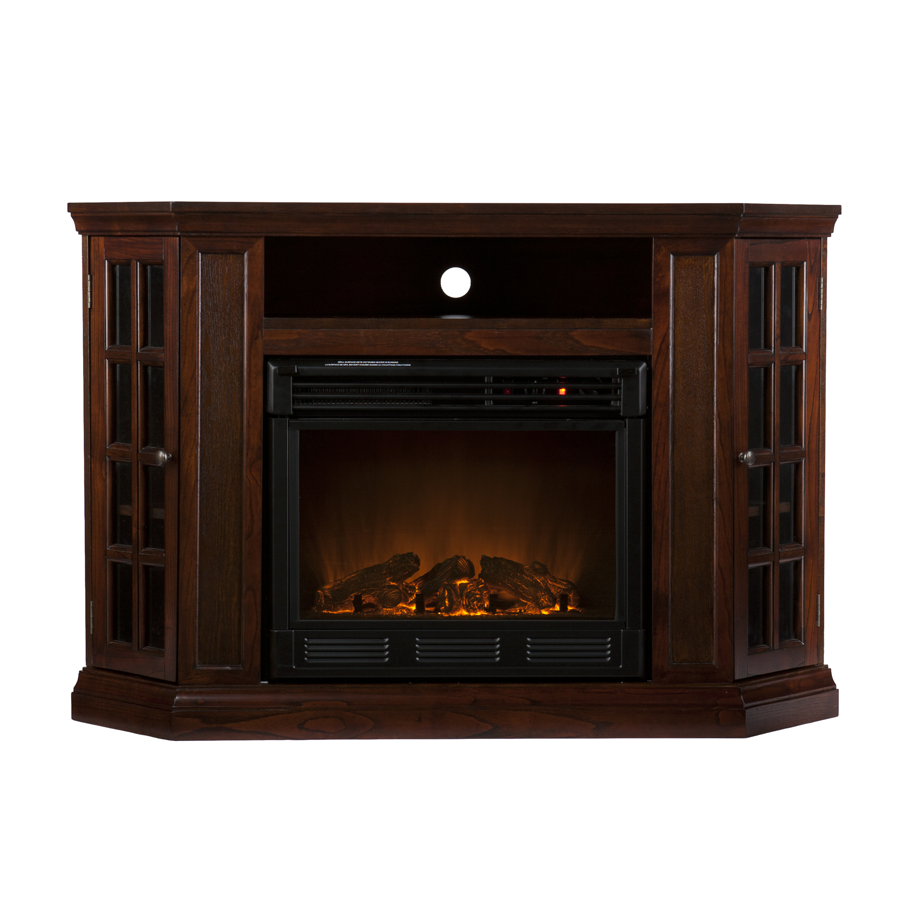 High Quality ... Holly U0026 Martin™ Akita Convertible Media Electric Fireplace Espresso   4  ...