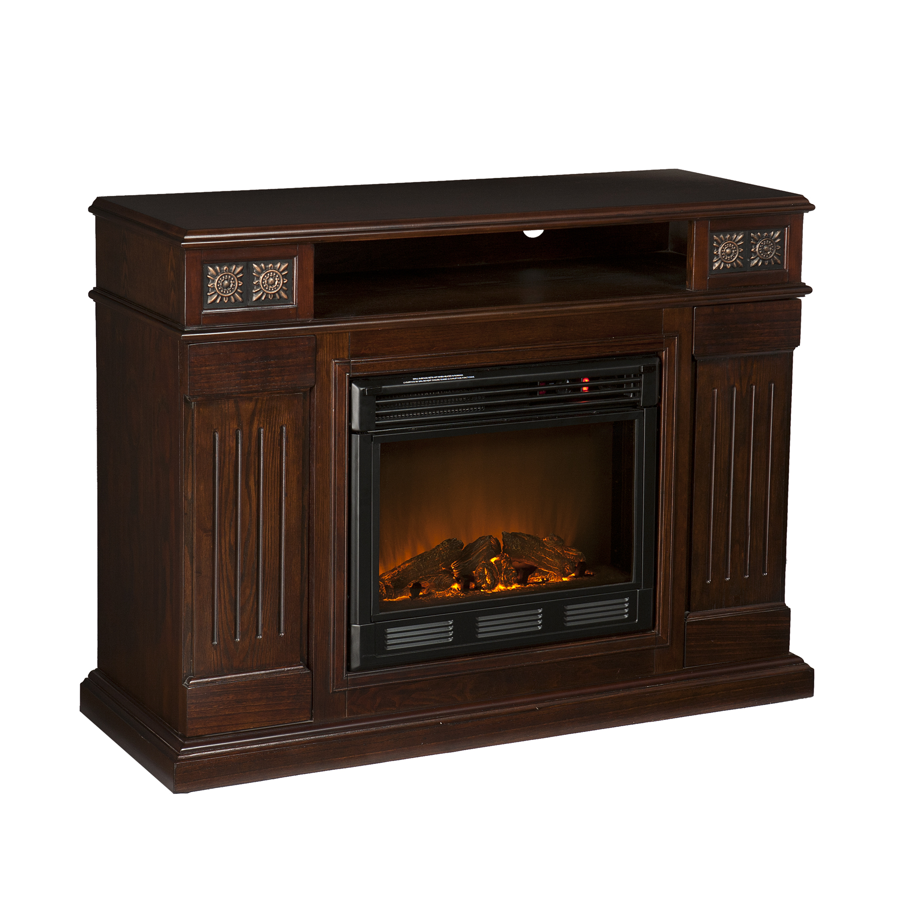 Holly Martin Clifton Media Electric Fireplace Espresso Holly Martin 37 066 084 6 12