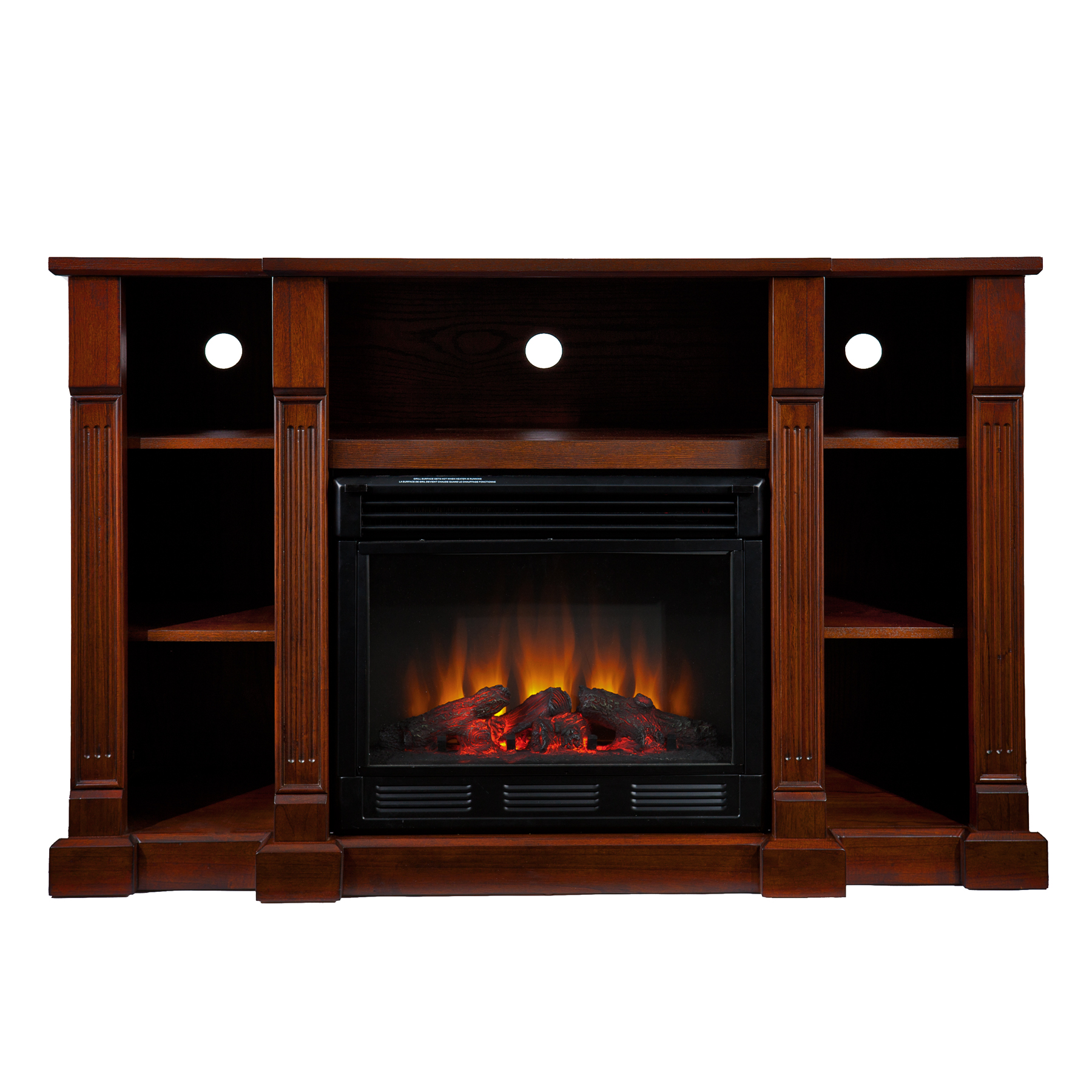 Kendall Electric Media Fireplace Espresso Southern Enterprises Fe9386