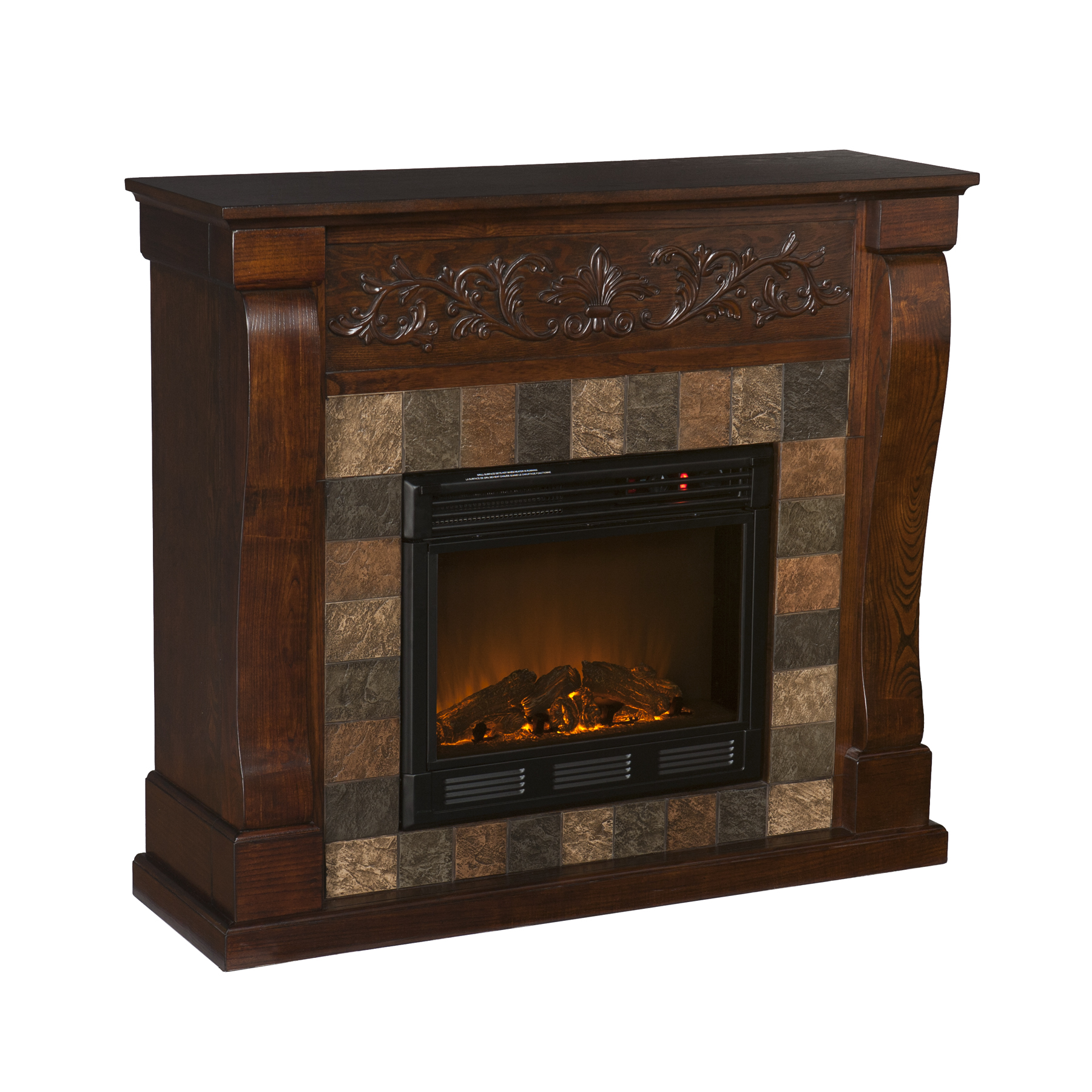Holly Martin Calgary Electric Fireplace Espresso Holly Martin 37 054 023 6 12