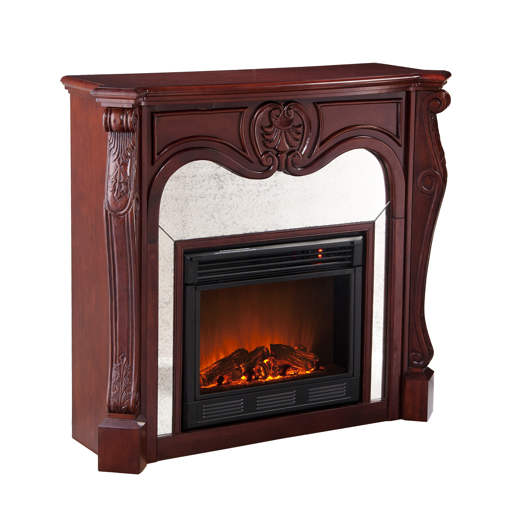 holly u0026 martin burbank electric fireplace cherry holly u0026 martin