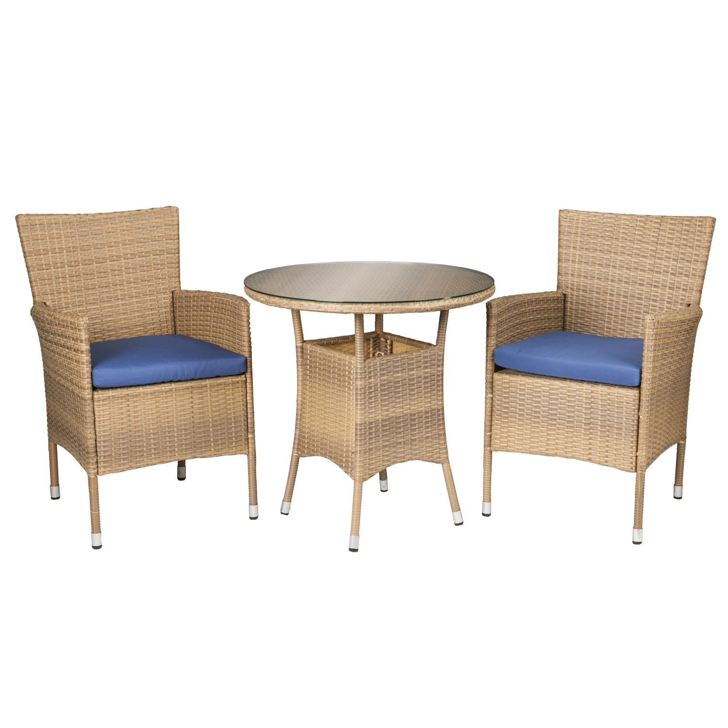 Veda Outdoor Seating 3Pc Set
