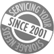 Servicing your storage needs since 2001
