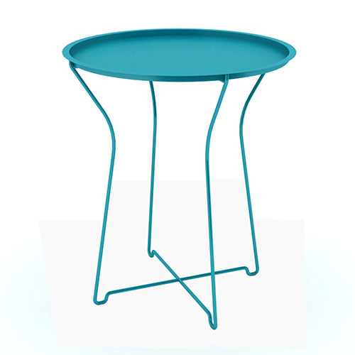 Metal Side Table, Capri Breeze
