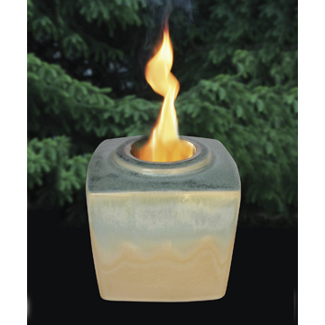 Opal Patio Burner Roun Cut Gemstone Collection (Set Of 4)