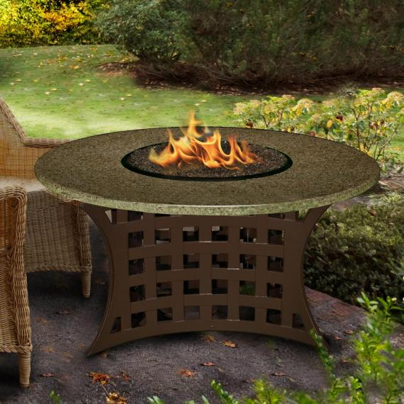 LaCosta Chat Height or Dining Height Fire Pit